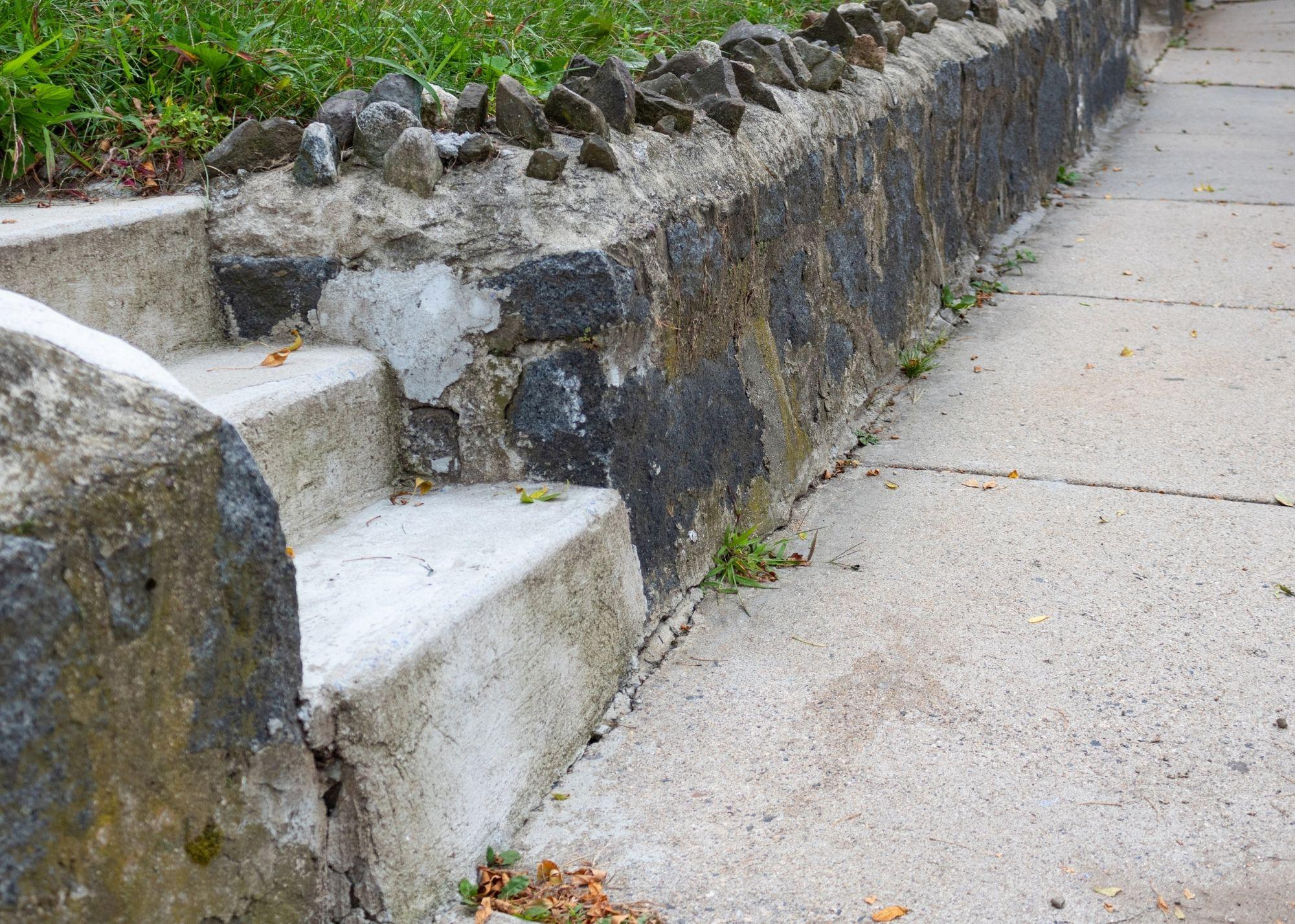 concrete retaining wall St Louis